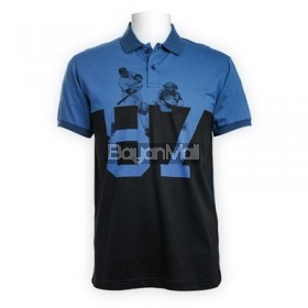 Baseball Print Polo Shirt
