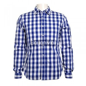 Bench Gingham Check Long Sleeve Shirt Size: S,M,L,XL