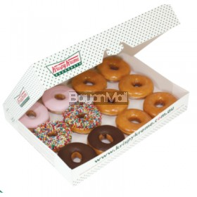 Krispy Kreme 12pcs/ 1 dozen assorted