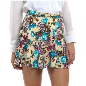Bench Floral Print Mini Skirt Size: S,M,L