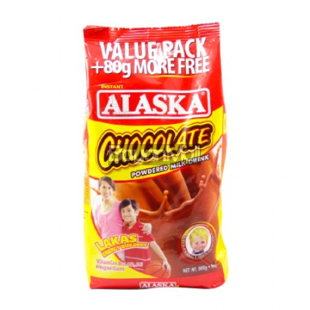 Alaska Chocolate Powder Milk Drink Value Pack 800g - In a Pack
