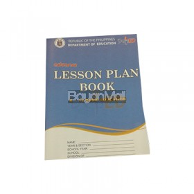 Advance Lesson Plan Book k-12 Basic Education