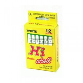 Hi Chalk Dustless 12 sticks