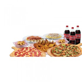 Shakeys Monster Meal Good for 12 Persons