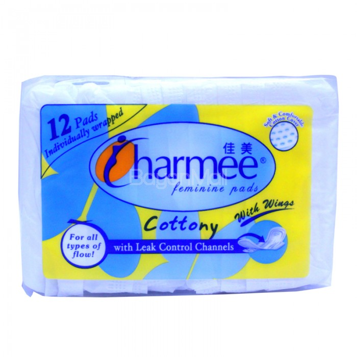 Charmee Feminine Pads Cottony with Wings 12 pads : IMG508320copy 700x7000 from www.bayanmall.com size 700 x 700 jpeg 74kB