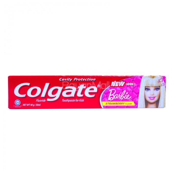 Colgate Toothpaste Barbie Strawberry Flavor 40g
