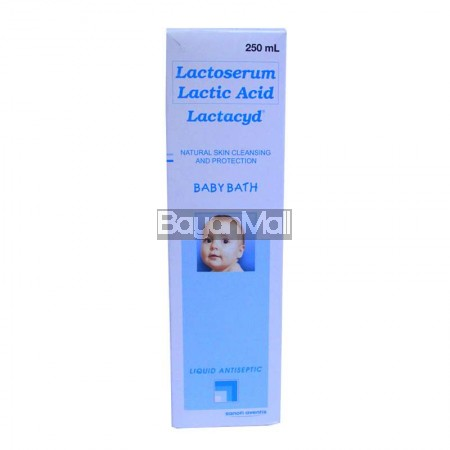 Lactoserum Lactic Acid Lactacyd Baby Bath 250ml