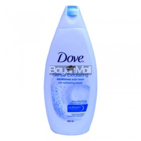 Dove Gentle Exfoliating Nourishing Body Wash with Exfoliating Beads 400ml