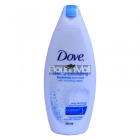 Dove Gentle Exfoliating Nourishing Body Wash with Exfoliating Beads 200ml
