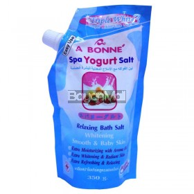 A Bonne' Spa Yogurt Salt (Triple White) 350g