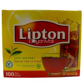 Lipton 100% Natural Tea Net Wt. 226g