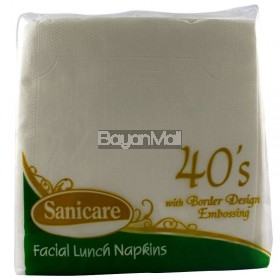 Sanicare Facial Lunch Napkins 149g