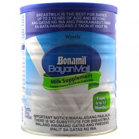 Bonamil Milk Supplement - From 6-12months 900g - In a can