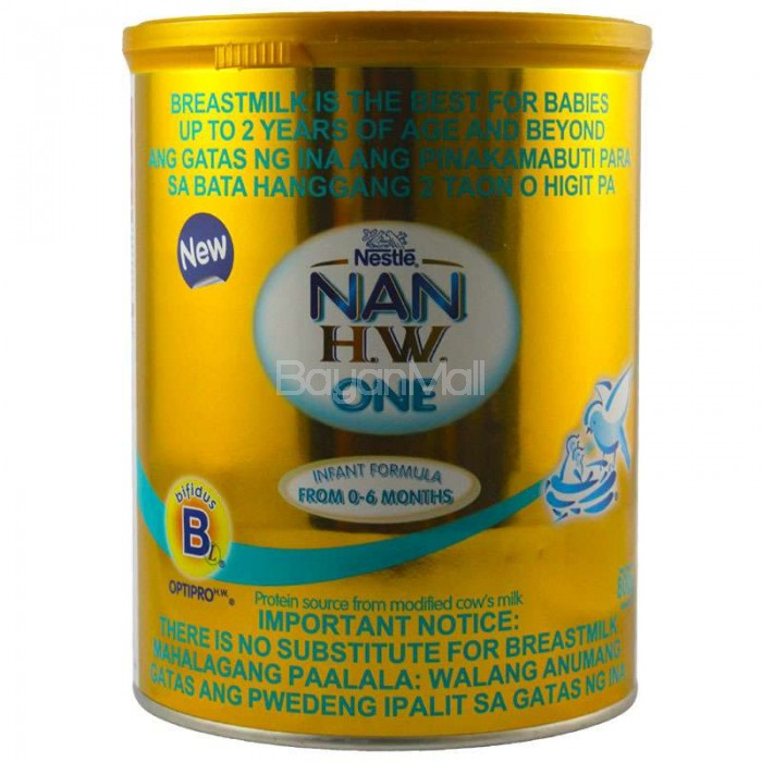 Nestle Nan H W One 800g In A Can