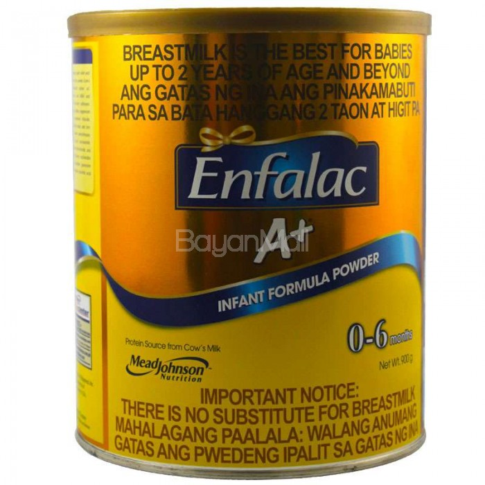 Enfalac A Infant Formula Powder From 0 6 Months 900g In Can