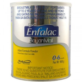 Enfalac Infant Formula Powder From 0-6 months 900g - In a can