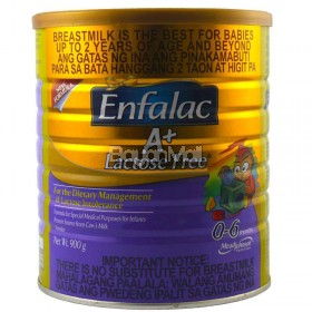 Enfalac A+ Lactose Free ( From  0-6months ) 900g - In a can