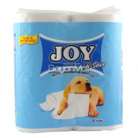 Joy Bathroom Tissue Hi-Save (More Comfort & Savings) 4 rolls 230g