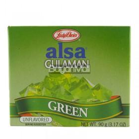 Lady's Choice Alsa Gulaman - Green (Unflavored) Net Wt. 90g