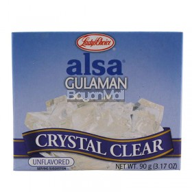 Lady's Choice Alsa Gulaman - Crystal Clear (Unflavored) 90g