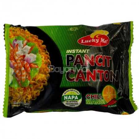 Lucky Me Instant Pancit Canton - Chili Mansi Flavor 80g