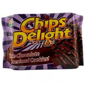 Galinco Chips Delight Triple Chocolate Overload Cookies 175g