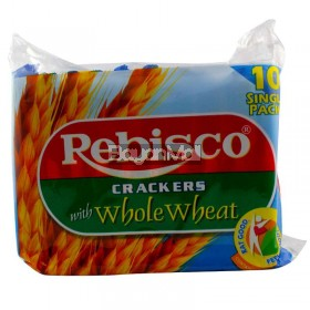 Rebisco Crackers with Whole Wheat Net 320g ( Packs X 32g )