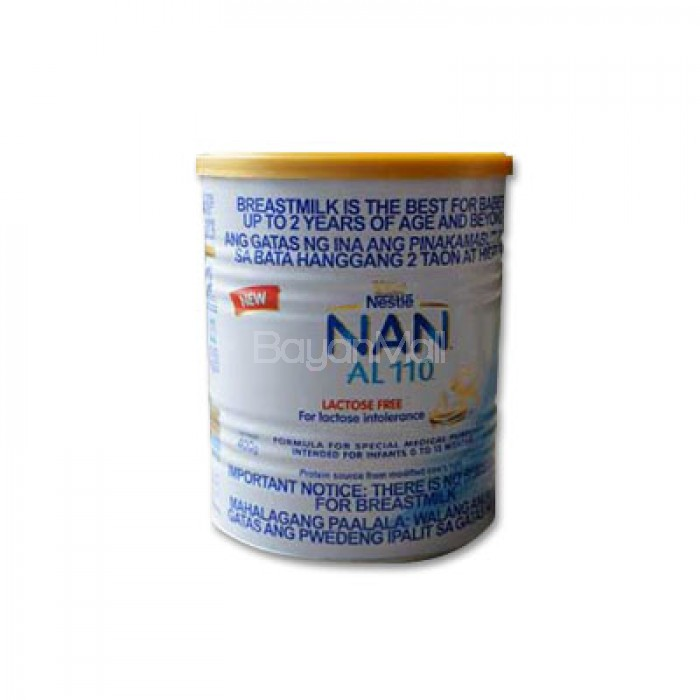 Nan Al 110 Lactose Free 400g In A Can