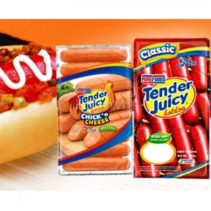 Purefoods Tender Juicy Hotdog 1kg
