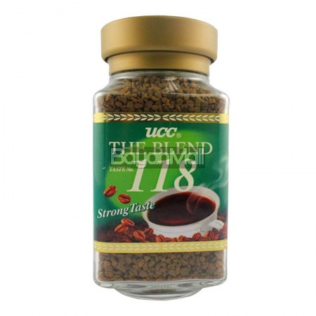 UCC The Blend Taste No. 118 ( Strong Taste )Net Wt. 100g