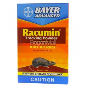 Bayer Advanced Racumin Tracking Powder (Kills All Rats) 7.5g
