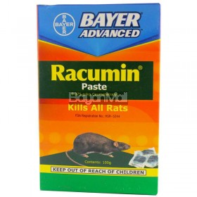 Bayer Advanced Racumin Paste  ( Kills All Rats) 0.375g