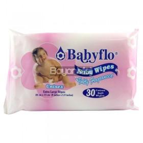 Babyflo Baby Wipes Lightly Fragranced - Unisex 110g