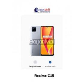 Realme C15 Seagull Silver