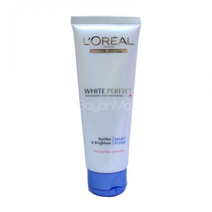 Loreal Paris Dermo-Expertise White Perfect (Purifies & Brightens Milky Foam) 100ml