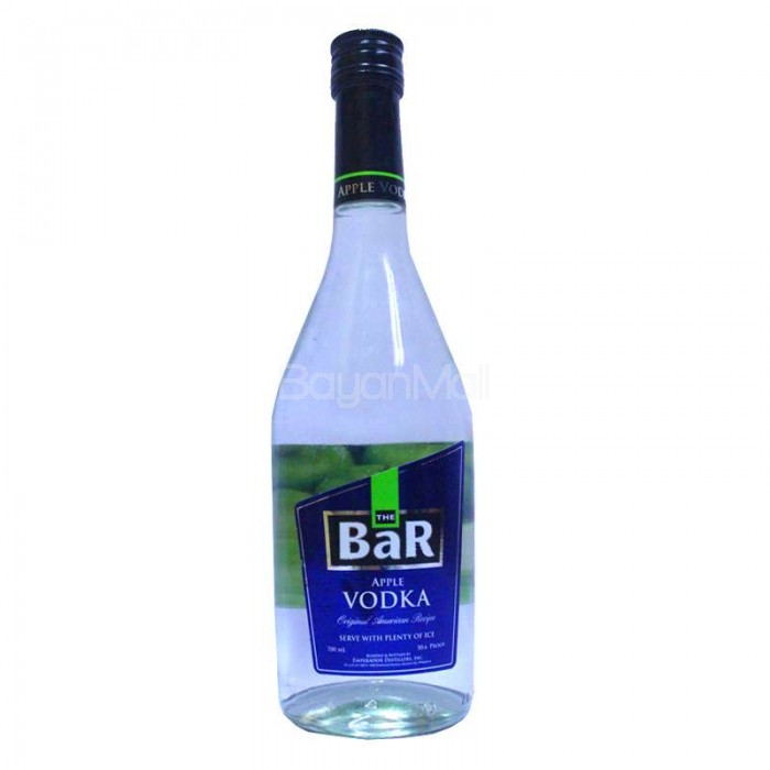 The Bar Apple Vodka 50 6 Proof 700ml