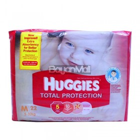 Huggies Total Protection Medium 22pcs. (5-10kg)