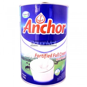 Fonterra Anchor Fortified Full Cream Milk Powder 1.8kg - In a can