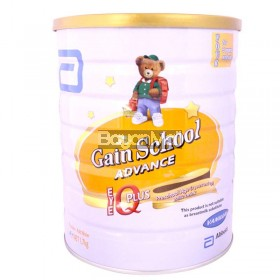 Gain School Advance IQ Plus Pre-school Age3+ 1.7kg - In a can