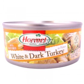 Hormel White and Dark Turkey in Water 142g