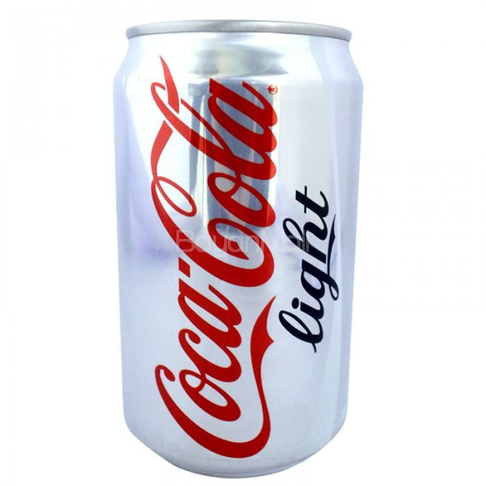 coca cola light 330ml in can