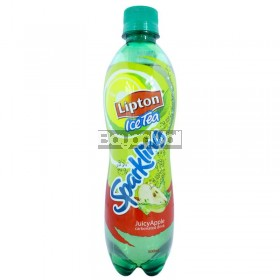 Lipton Iced Tea Sparkling Juicy Apple 500mL