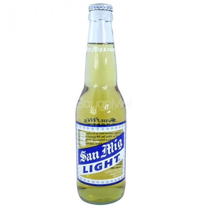 San Miguel Light Low Calorie 330mL In A Bottle