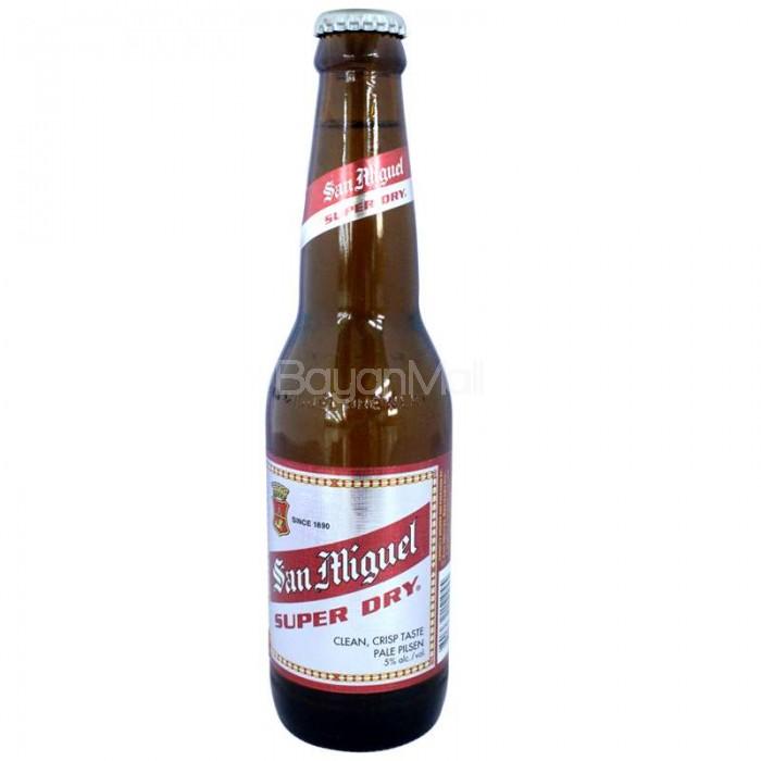 San Miguel Super Dry 330ml In A Bottle