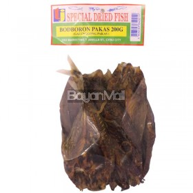 TJ Special Dried Fish Bodboron Pakas (Galunggong Pakas) 200g