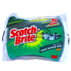 Scotch-Brite Heavy Duty Twin Scrub Pad Trial 3m