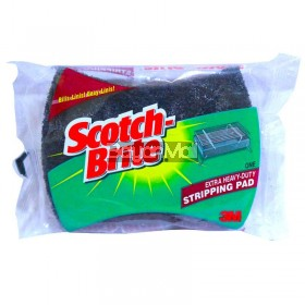Scotch-Brite Extra Heavy Duty Stripping Pad 3m (105mmx83mmx23mm)