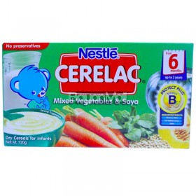 Nestle Cerelac Mixed Vegetables & Soya 120g
