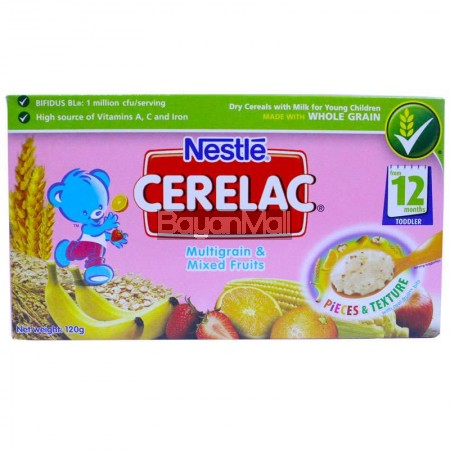 Nestle Cerelac Multi Grain & Mixed Fruits 120g