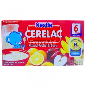 Nestle Cerelac Mixed Fruits and soya 120g